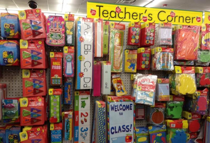 teachers supplies tax
