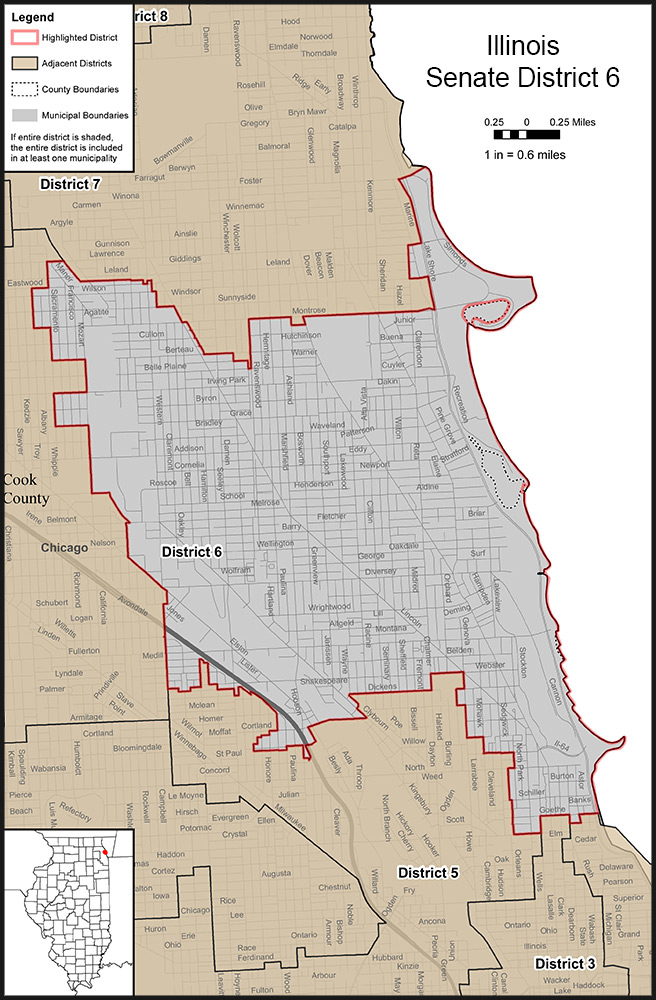 Illinois Senate District 6
